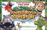 Jungle River Adventure: Postcards, pack of 25