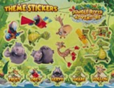 Jungle River Adventure: Theme Stickers, 10 sheets
