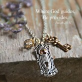 Where God Guides Charm Necklace