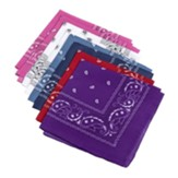 GiddyUp Junction: Bandanas (pkg. of 12)