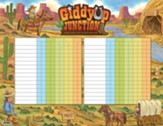 GiddyUp Junction: Attendance Chart