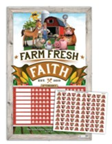Farm Fresh Faith: Attendance Chart and Stickers