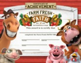 Farm Fresh Faith: Certificate of Achievement (pkg. of 25)
