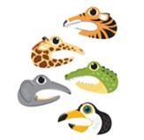 In The Wild: Hand Puppet Decals (pkg. of 5)