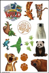In The Wild: Theme Stickers (pkg. of 10 sheets)