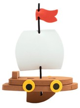 Big Fish Bay: Sail Your Own Foam Ship Craft Kit (pkg. of 12)