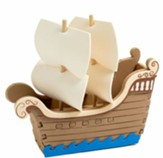 3-D Tall Ship Craft Kits, pack of 12