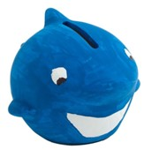Big Fish Bay: Ceramic Shark Bank Craft (pkg. of 12)