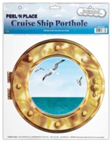 Big Fish Bay: Porthole Cling