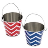 Big Fish Bay: Boardwalk Beach Mini Pails (pkg. of 12)