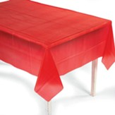Big Fish Bay: Red Tablecloth