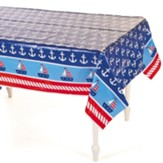 Big Fish Bay: Nautical Tablecloth