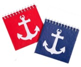 Big Fish Bay: Sailor's Log Notebooks (pkg. of 24)