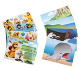 Big Fish Bay: Jonah Mini Sticker Scenes (pkg. of 24)