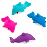 Big Fish Bay: Dolphin Erasers (pkg. of 24)