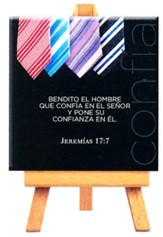 Bendito el hombre, Mini lienzo (Blessed is the Man, Mini Canvas Print)