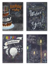 Birthday Treats/Chalkboard Greetings, Boxed cards (KJV)