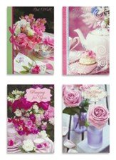 Get Well, Teacup Wishes, Boxed cards (KJV)