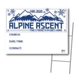 Alpine Ascent: Community Yard Sign