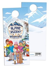 Alpine Ascent: Doorknob Hangers (pkg. of 50)
