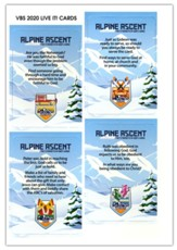 Alpine Ascent: Live-It! Cards (pkg. of 8)