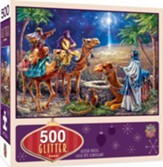 Three Magi Glitter Puzzle, 500 Piece