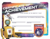 Cosmic Crusade: Certificates of Achievement, Pack of 25