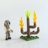 Moses & the Burning Bush Mini Figure