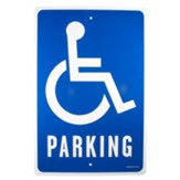 Handicap Parking Church Parking Sign
