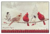 Birds On A Branch, Boxed Christmas Cards