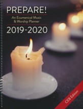 Prepare! 2019-2020: An Ecumenical Music & Worship Planner, CEB edition