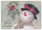 Holly Snowmen, Boxed Christmas Cards