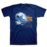 Make Waves Shirt, Metro Blue, Large