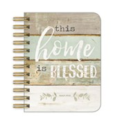 This Home Is Blessed Little Spiral Notebook