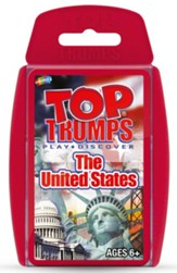 Top Trumps Card Game: The United  States