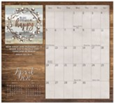 2020 Faith and Family Magnetic Calendar Pad