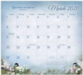 2020 Songbirds of Faith Magnetic Calendar Pad