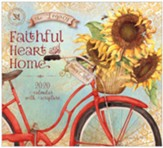 2020 Faithful Heart and Home Wall Calendar