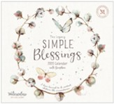 2020 Simple Blessings Wall Calendar