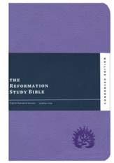 ESV Reformation Study Bible, Condensed Edition, Lavender, Leather-like