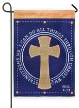 I Can Do All Things Through Christ Flag, Small