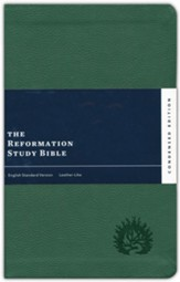 ESV Reformation Study Bible, Condensed Edition - Forest, Leather-Like, Imitation Leather