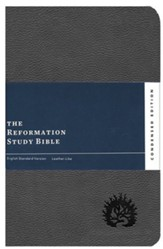 ESV Reformation Study Bible, Condensed Edition - Charcoal, Leather-Like, Imitation Leather