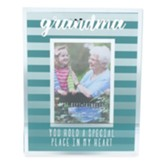 Grandma You Hold a Special Place on My Heart Photo Frame