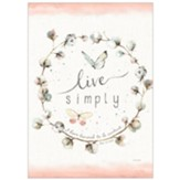 Live Simply Bible Companion Journal