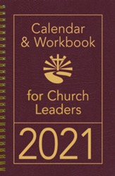 2021 Calendar & Workbook for Church Leaders