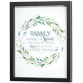 A Family is Special Framed Wall Art