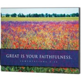 Great is Your Faithfulness Layered Wall Plaque