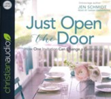 Just Open the Door: How One Invitation Can Change a Generation - unabridged audiobook on CD