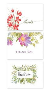 Everyday Thank You Note Cards, Set of 12